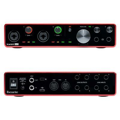 Focusrite Scarlett 8i6 3rd Generation USB Audio Interface • 226.98£