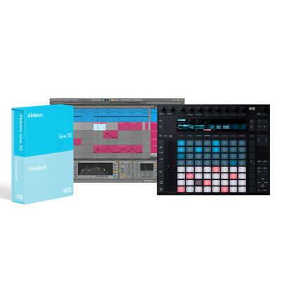 Ableton Push 2 And Live 10 Standard Bundle (NEW) • 778£