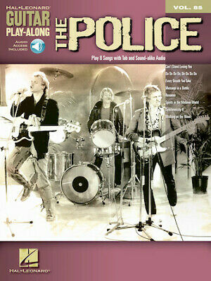The Police Guitar Play-Along Volume 85 (The Police) Guitar Play-Along Book/Onlin • 12.98£