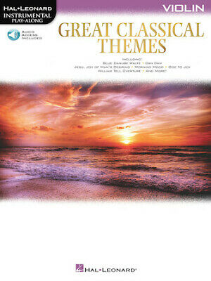 Great Classical Themes Violin (Various) Instrumental Play-Along Violin • 10.02£