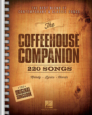 The Coffeehouse Companion The Best Blend Of Contemporary & Classic Songs 9x12 Ed • 26.92£