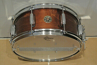 GRETSCH 14  CATALINA MAPLE SNARE DRUM In WALNUT GLAZE For YOUR DRUM SET! #F485 • 131.63£