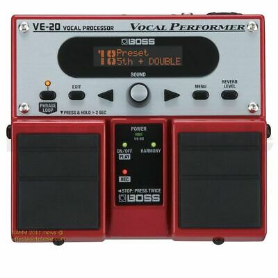Boss VE-20 Vocal Performer Vocal Effects Processor • 246£