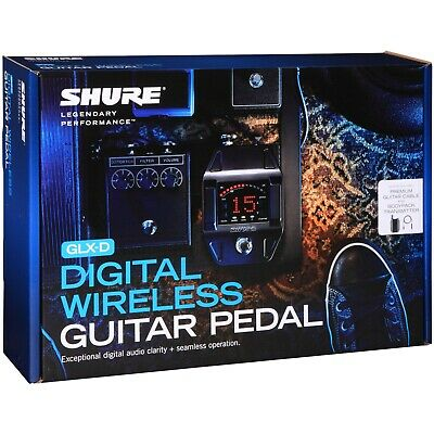 Shure GLXD16 Digital Wireless Guitar Pedal System • 337.80£