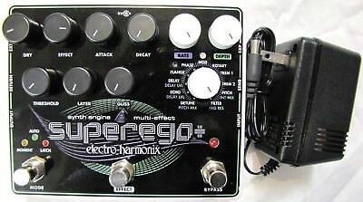 Used Electro-Harmonix EHX Superego Plus Polyphonic Synth Engine Guitar Pedal • 143.35£