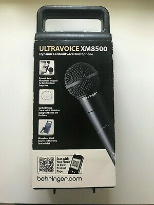BEHRINGER XM8500 ULTRAVOICE Dynamic Cardioid Vocal Microphone • 14.99£