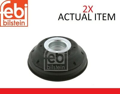 2x Febi Bilstein Front Shock Absorbers Top Mount Cushion Set Fe28405 • 54£