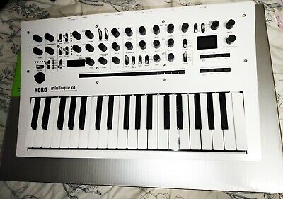 Korg Minilogue XD Limited Edition White (Loaded With All Ultimate Patches +) • 490£