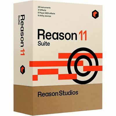 Reason Studios Reason 11 Suite Upgrade From Reason • 192.58£