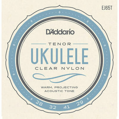 D'Addario EJ65T Pro-Arté Custom Extruded Nylon Ukulele Strings, Tenor • 7.78£