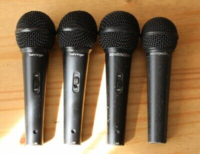 four Behringer Microphones.set Consists Of Three XM1800S And One XM 8500. • 30£