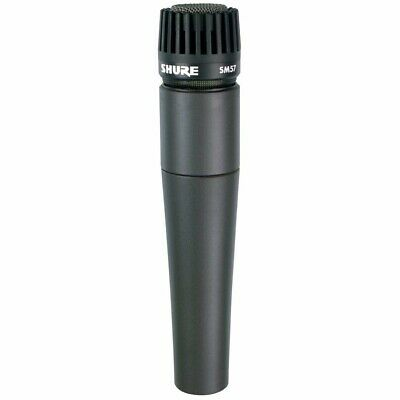 Shure*SM57-LC*Cardioid Dynamic Instrument Microphone+Clip+Bag • 71.19£