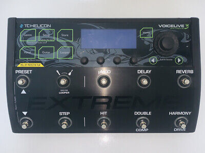 Tc Helicon Voicelive Play 3 Extreme- W/BOX -Barely Used - FREE UK PLUG ADAPTOR • 448£