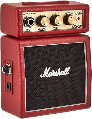 Marshall MS-2 Micro Guitar Amp Red - B-STOCK • 26£
