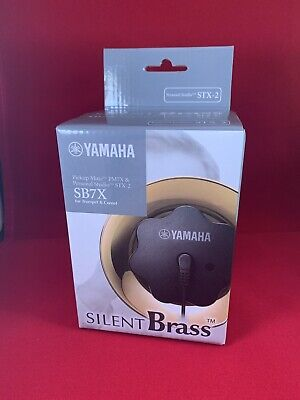 New! Yamaha SB7X -2 SILENT Brass System For Trumpet Great For Practice! • 105.12£