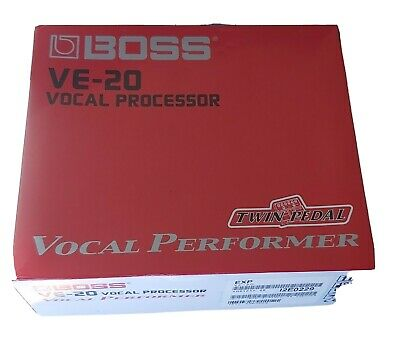BOSS VE 20 - Vocal Performer Microphone Effects Pedal - Vocal Processor • 100£