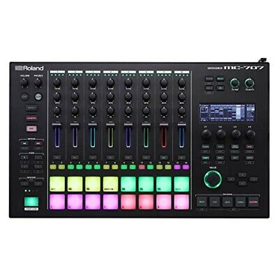 Roland Sequencer Digital DJ MC-707 GROOVEBOX AIRA Black Music Production Live • 961.25£