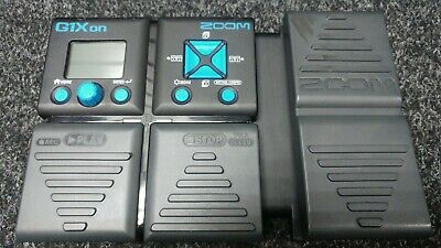 Zoom G1Xon Guitar Effects Pedal. Very Good Condition. Battery Operated • 46£
