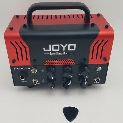 JOYO Bantamp XL JaCkMan II Guitar Preamp Tube Amp Head 20 Watts 2 Channels • 115£