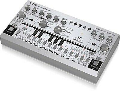 Behringer Analog Bass Line Synthesizer TD-3-SR Silver VCO VCF Audio Equipment • 164.62£