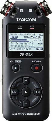 Tascam DR-05X Portable Audio Recorder • 111.28£