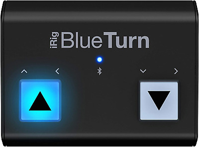 IK Multimedia IRig BlueTurn Bluetooth Page Turner For IOS And Android • 59.09£