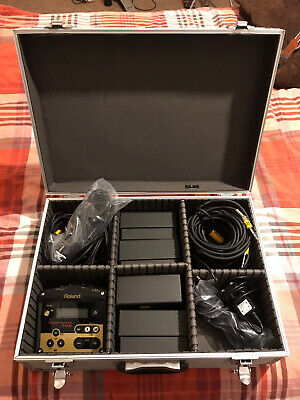 Roland TM-2 Module. 3 X RT-30H, 1 X RT30K Triggers. All Cables And Flightcase. • 250£