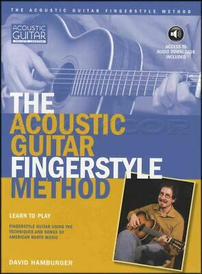 The Acoustic Guitar Fingerstyle Method TAB Music Book With Audio Learn To Play • 21.47£