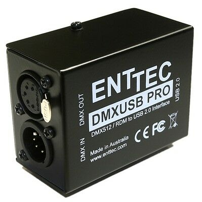 Enttec DMX USB Pro 70304 PC Based Controller Interface 512 Channels (Open Box)  • 95.72£