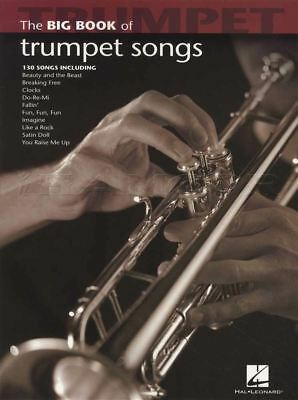 The Big Book Of Trumpet Songs Sheet Music Book 130 Songs Coldplay E T Elvis • 11.34£