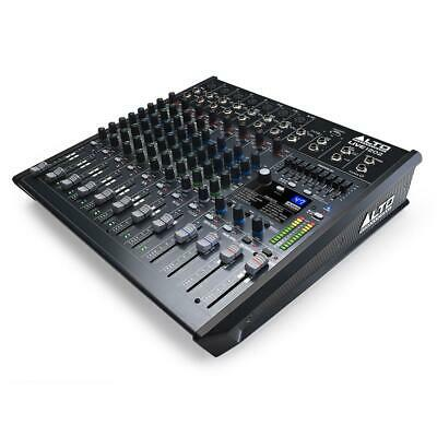 Alto Live 1202 Professional 12 Channel USB Mixer With 100 Alesis Digital Effects • 219£