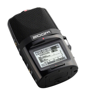 Zoom H2n Portable Stereo Mid-Side Recorder (NEW) • 149£