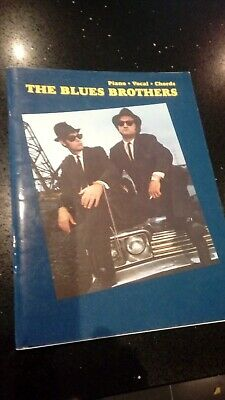 The Blues Brothers Selections Paperback Book : Piano, Vocal, Chords : 11 Tracks • 7.99£