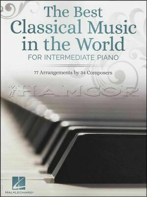 The Best Classical Music in the World for Intermediate Piano Book Bach Mozart