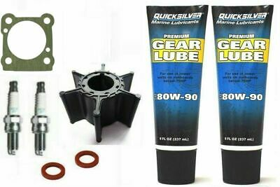 8HP YAMAHA MARINER 8C 8D Outboard SERVICE KIT 2 Stroke Gearlube Impeller Plugs • 44.95£