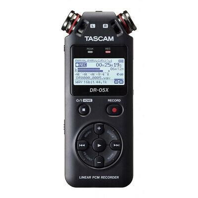 Tascam DR-05X Stereo Handheld Digital Audio Recorder (NEW) • 80.50£