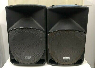 2 X Mackie Thump TH-15A Active PA Amplified Speakers Pair TH15A • 399.99£