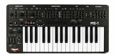 Behringer MS-1 Black Analog Synthesizer With Live Performance Kit | MS-1-BK • 234.86£