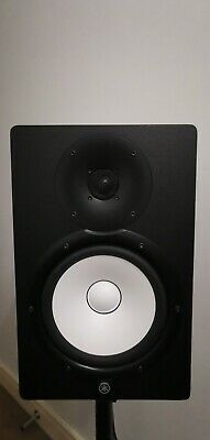 Yamaha HS8 Active Studio Monitor Speakers (Black, Pair) With Adjustable Stands • 399£