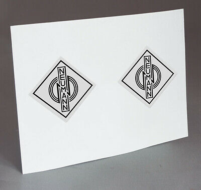 2 Neumann Kh 120a Monitors  Logo Decals, Stickers For Restoration Project • 18.41£