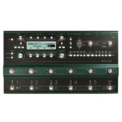 KEMPER PROFILER-STAGE Guitar/Bass Amp Modeler With Integrated Remote  • 1,237.08£