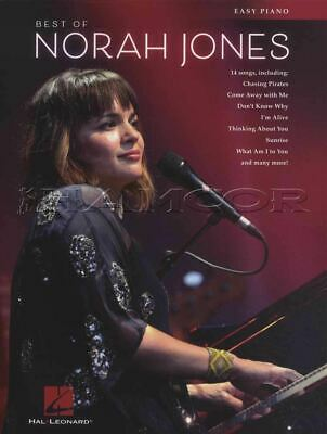 Best of Norah Jones for Easy Piano Sheet Music Book SAME DAY DISPATCH