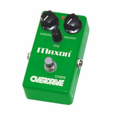 Maxon Reissue Series OD-808 (OD808) Overdrive Guitar Or Bass Effect Pedal - NEW! • 115£