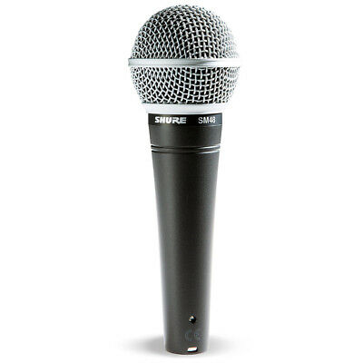 Shure SM48-LC Vocal Dynamic Microphone Cardioid, New! • 43.65£