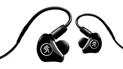 Mackie MP-240 Professional In-Ear Monitor Headphones With Dual Hybrid Drivers • 149£