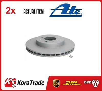 2 X ATE BRAKE DISC SET 240121-01051 • 96£