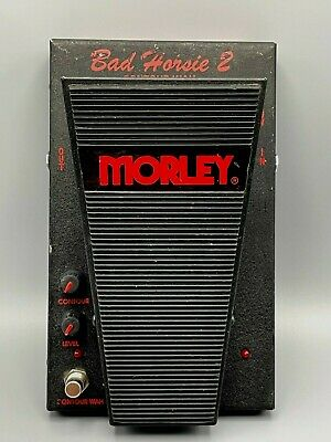 Morley Bad Horsie 2 Contour Wah Effects Pedal - Steve Vai - For Guitar Bass Keys • 91.06£