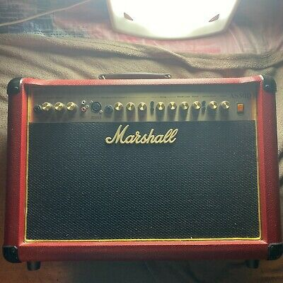 Marshall AS50D Red Acoustic Amplifier • 185£