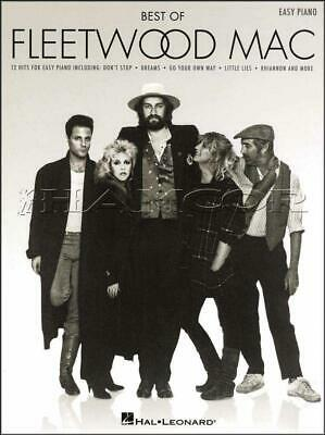 Best of Fleetwood Mac Easy Piano Sheet Music Book Songbook SAME DAY DISPATCH