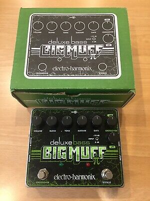 Electro-Harmonix Deluxe Bass Big Muff Pi Bass Effects Pedal • 65£